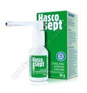 Hascosept AEROZOL 1.5 mg/1g 30g