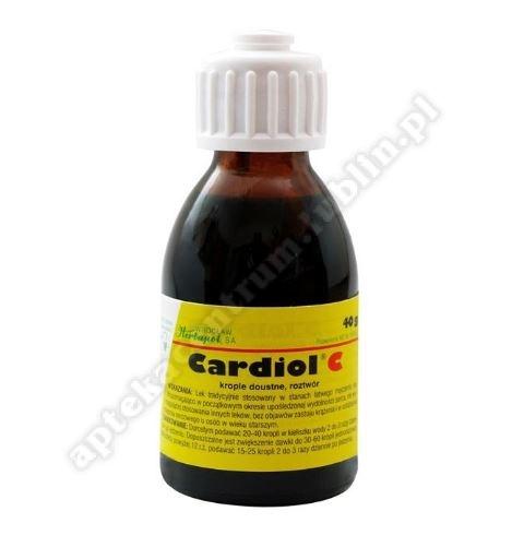 Cardiol C krople  fl.40 g
