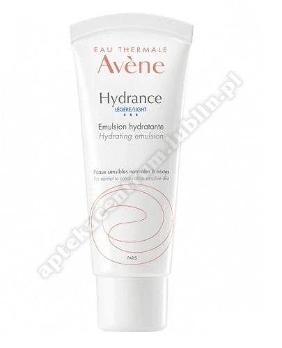 AVENE HYDRANCE OPTIMALE Legere Emulsja nawilżająca 40ml-d. w. 2021. 02. 28-3 op