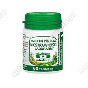 Tabletki przeciw niestrawności x 60 tabl.