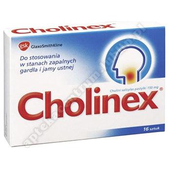 Cholinex pastylki do ssania 0.15 g 16 sztuk