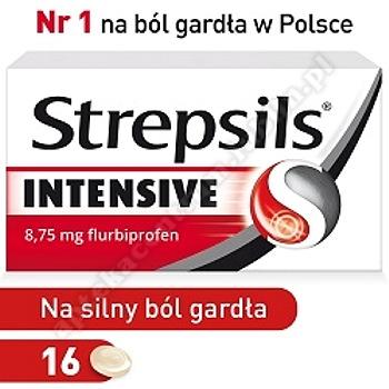Strepsils intensive x 16 tabl.
