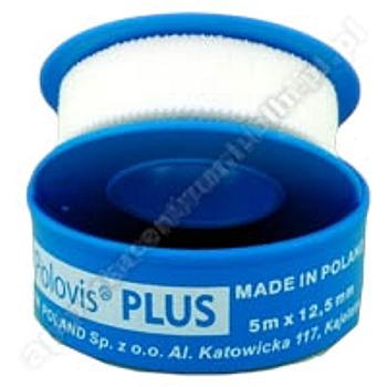 Plaster POLOVIS Plus 5m x 12,5mm na kółku 1 sztuka