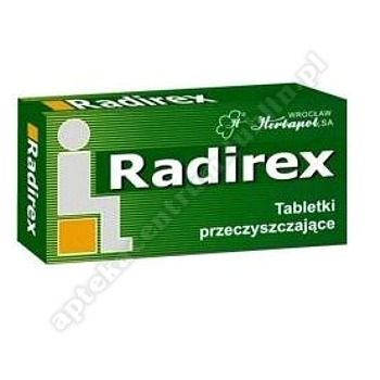 Radirex 0.5 g 10 tabl.