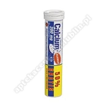 Calcium 300 alergo tabl.mus. 0,3g 20tabl.