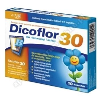 Dicoflor 30 x 10 kapsułed.w.2020.02.29