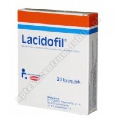 LACIDOFIL 20 kapsułek