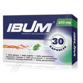 Ibum 0,2 g 30 kapsułek