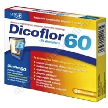 Dicoflor 60 x 20 kapsułek