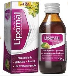 Lipomal syrop 125 g (butelka)