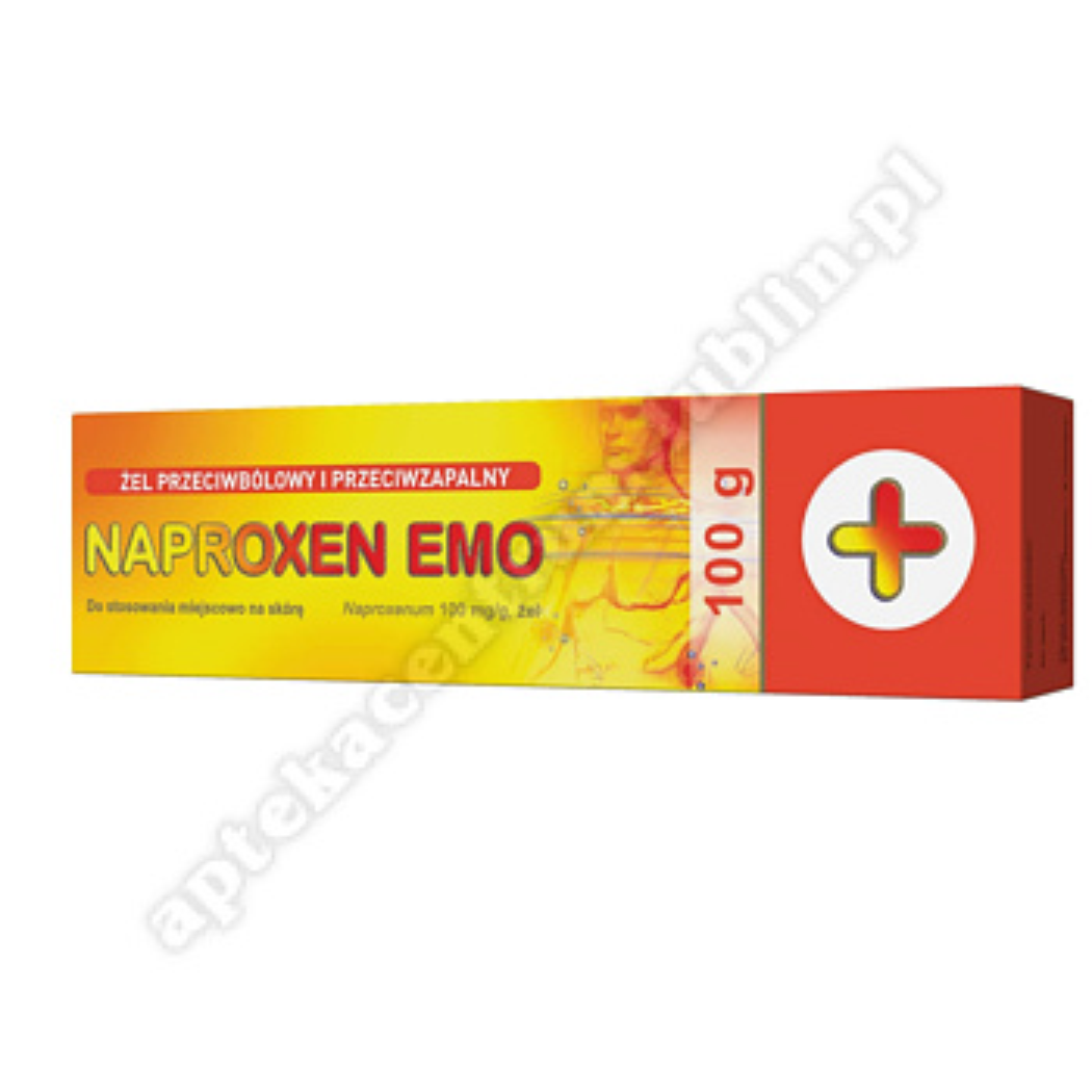 Naproxen Emo żel 0,1 g/1g 100 g