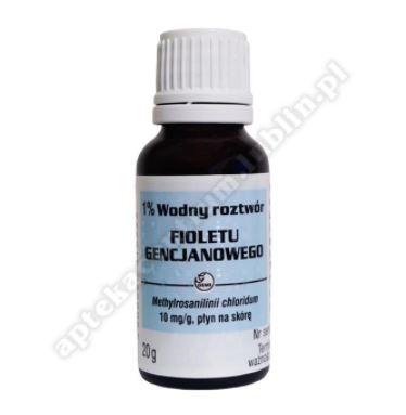 1% Wodny roztwór fioletu gencjanowego gemi