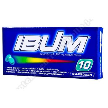Ibum 0,2 g 10 kapsułki elastyczne 0,2g 10kapsułek
