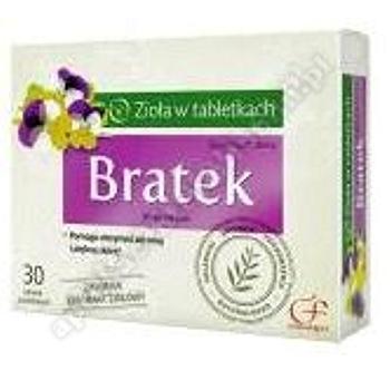 Bratek tabletki powlekane 30 tabletek (blistry)