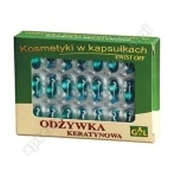 GAL Odżywka keratynowa x 48 kaps.