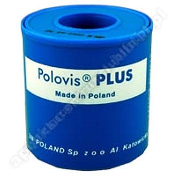 Plaster POLOVIS Plus 5m x 50mm na kółku 1 sztuka