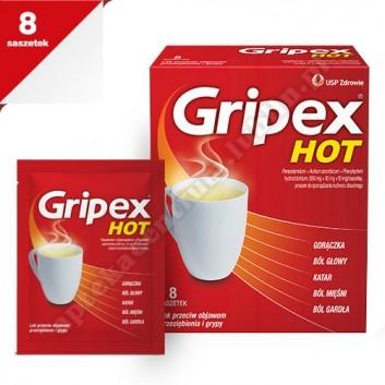 Gripex HotActiv x 8 sasz.