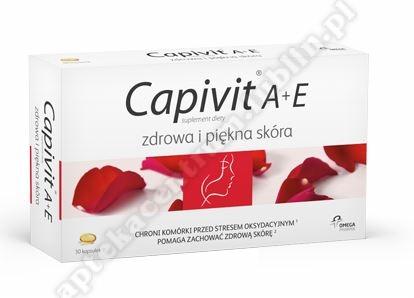Capivit A + E Zdrowa i Piękna skóra kapsułki 30 sztuk