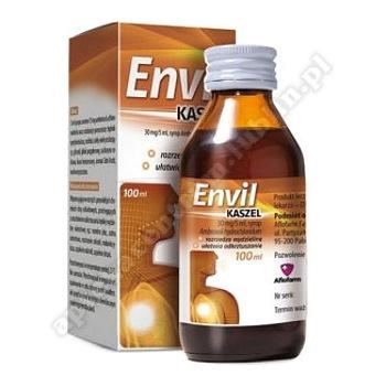 Envil kaszel syrop 0,03g/5ml 100ml(butelka