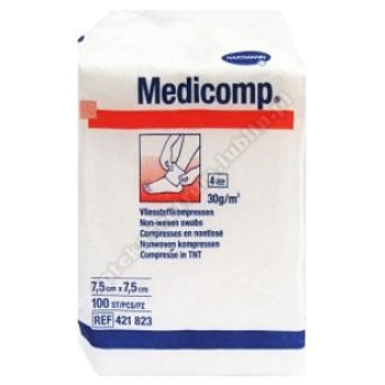 Kompresy Medicomp 7.5x7.5cm niejałowe  100 szt. HARTMANN PAUL A.G.