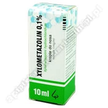 Xylometazolin 0.1%,krop.do nosa,(P.W.),10