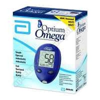 Glucometr aparat Optium Omega 1 szt.