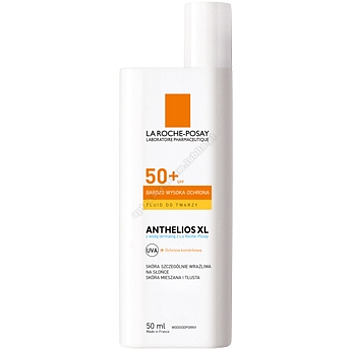 LA ROCHE ANTHELIOS XL 50+ Fluid do twarzy 50ml+POSTHELIOS 100ML GRATIS
