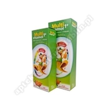 Multivitamol 1+,syrop,witaminowy,z zelazem, 250 ml