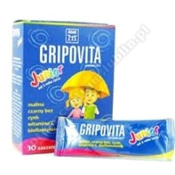 Zdrovit Gripovita Junior prosz. 10g 10sasz