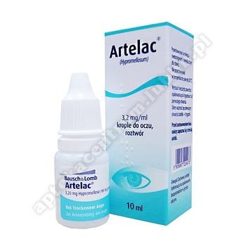 Artelac krople do oczu roztwór 3,2mg/ml 10ml