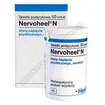 HEEL Nervoheel N  50 tabletek  (pojem.)