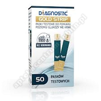 Diagnostic Gold Strip test x 50 pasków