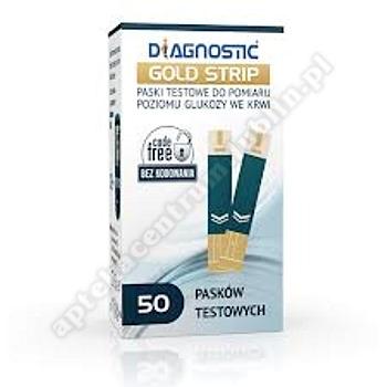 Diagnostic Gold Strip test x 50 pasków