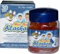 MioBio Alaskan Żelki z super tranem 30 sztuk