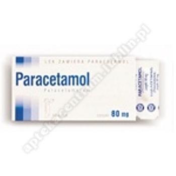 Paracetamol 0,5g x 10 czopków doodbytniczych