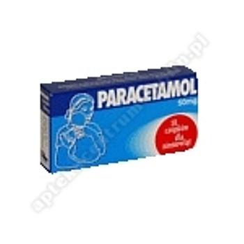 Paracetamol Farmina czop.doodbyt. 0,05g 10
