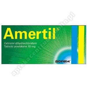 Amertil Bio 0,01g x 10 tabletek powlekanych