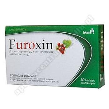 Furoxin tabl. 0,63 g 30 tabl.
