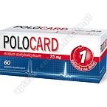 Polocard tabl.powl.dojel. 0,075g 60tabl.