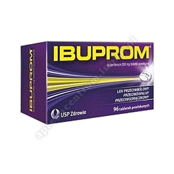 Ibuprom tabl.powl. 0,2 g 96 tabl.(butel.)
