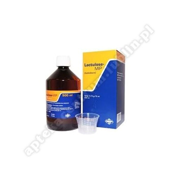 Lactulose-MIP syrop 500 ml