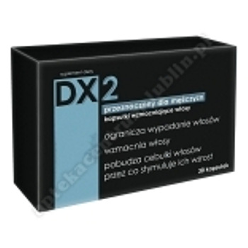 DX2 wzmacniający włosy dla mężczyzn x 30 kapsułek