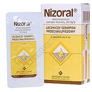Nizoral szampon 6 sasz.a 6ml