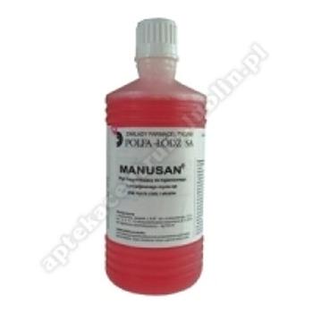 Manusan 4% płyn na skórę 0,04g 500 ml
