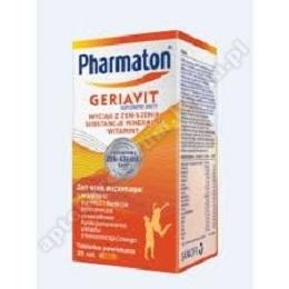 Pharmaton Geriavit x 100 kaps.miekk.-d.w.31.07.2020