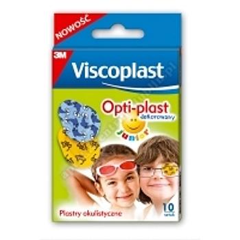Plaster okulistyczny OPTI-PLAST 62x50mm /junior/ Dekorowany 10szt.