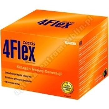 4 Flex Cassis 30 saszetek o smaku czarnej porzeczki