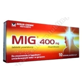 MIG tabl.powl. 0,4 g 10 tabl.(blister)
