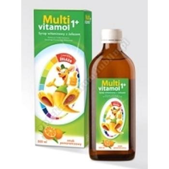 Multivitamol 1+ Syrop witaminowy z żelazem 500ml