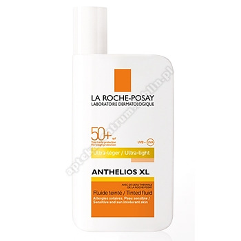 LA ROCHE ANTHELIOS 50+ Fluid barwiący do twarzy 50ml